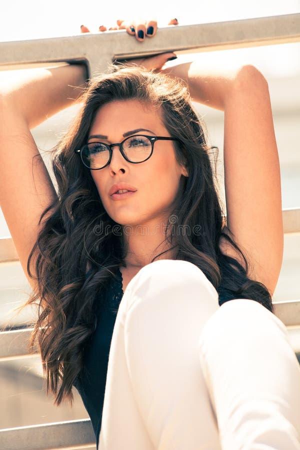 Download Eyeglasses moda obraz stock. Obraz złożonej z zbiornik - 53793153