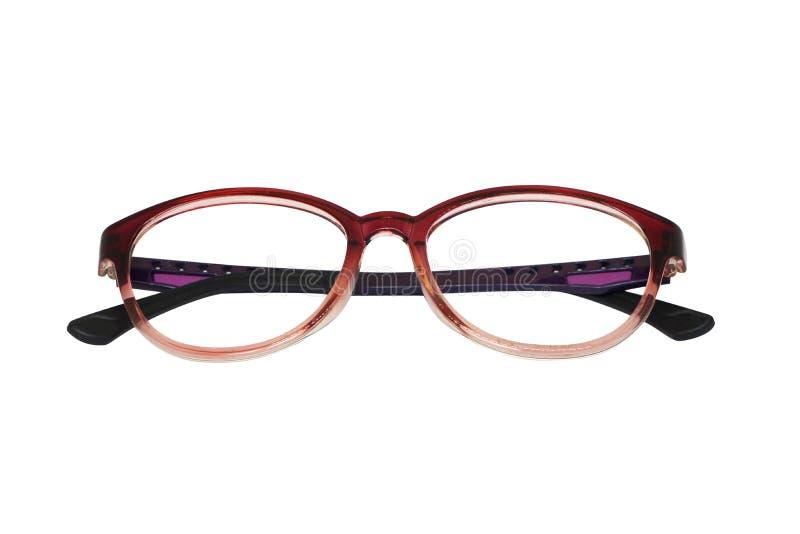 Eyeglasses spectacles isolated on white background royalty free stock photos