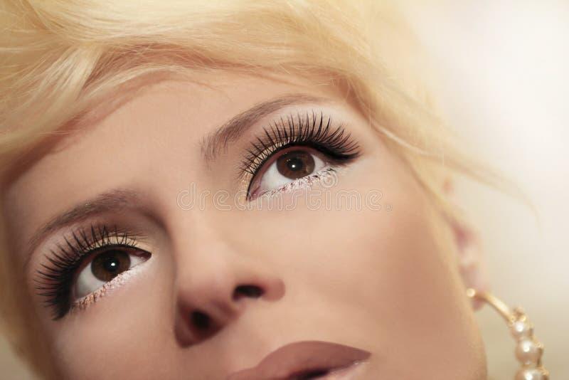 eyelash stockbilder