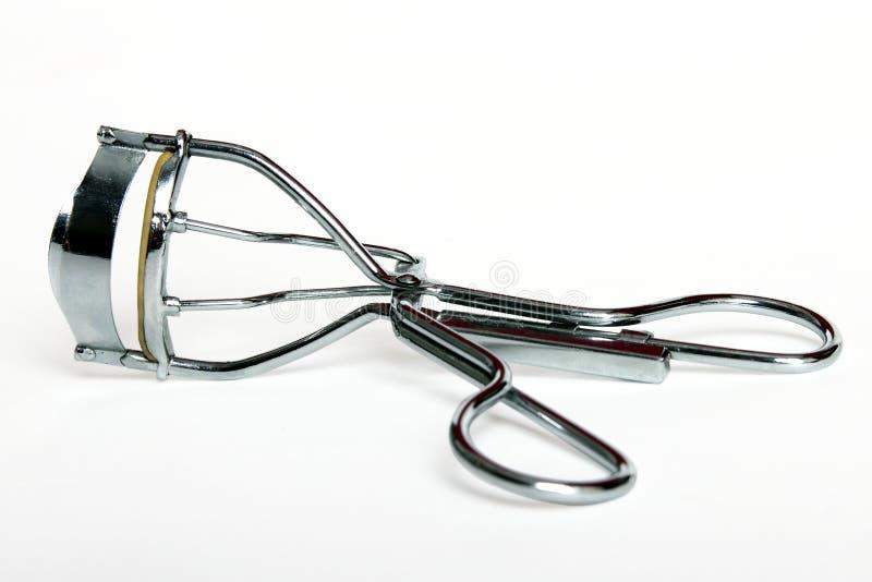 Eyelash curler. On white background stock images
