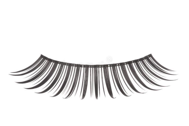 eyelashes που απομονώνονται τεχν στοκ εικόνα