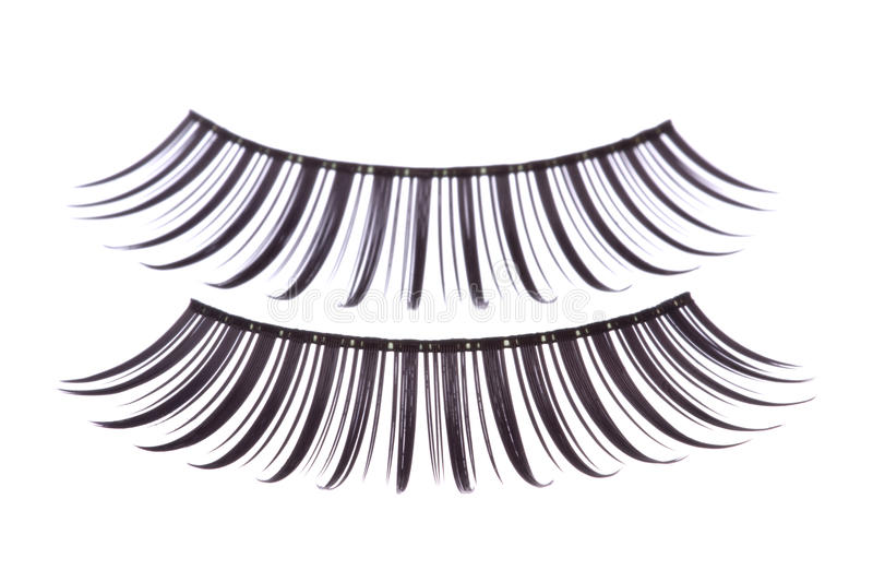 eyelashes που απομονώνονται τεχν στοκ φωτογραφία