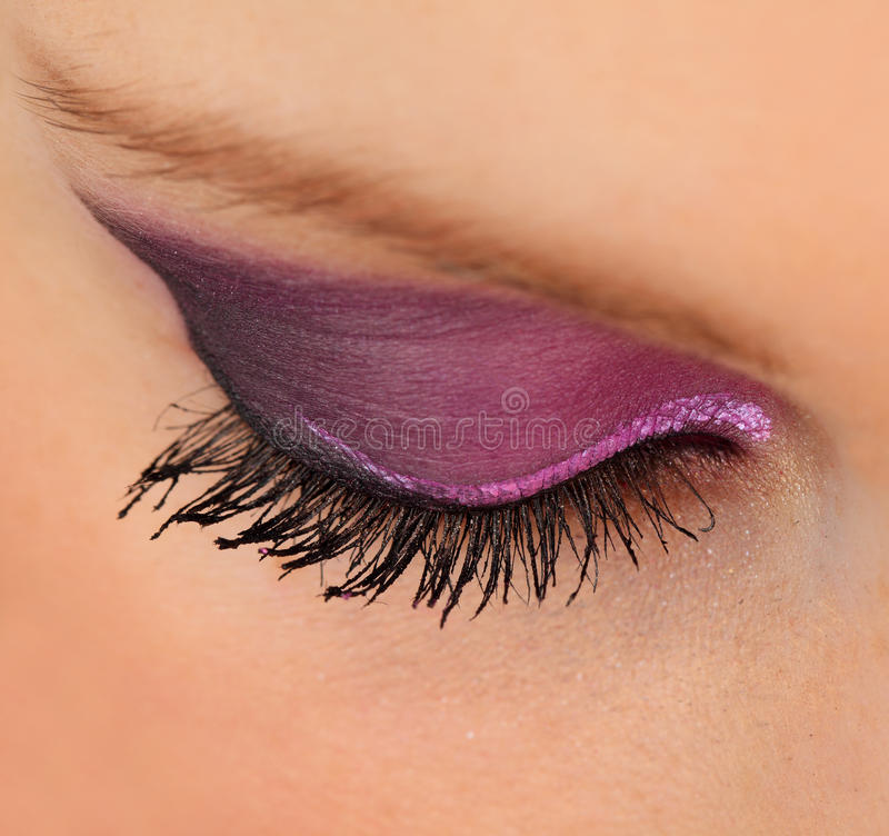 Download Eyelashes stock photo. Image of mascara, closeup, macro - 19133432