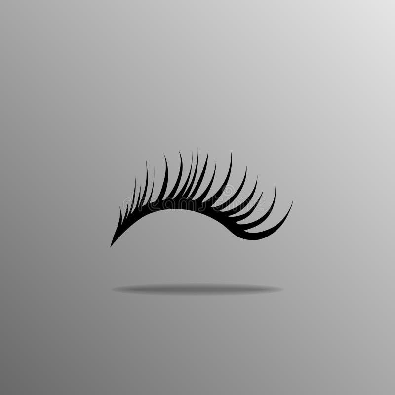 eyelashes stock abbildung