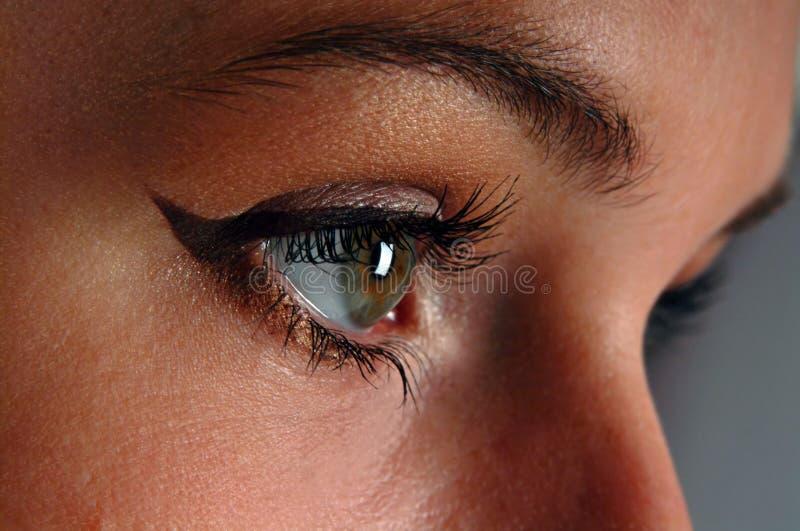 eyeliner royaltyfria bilder