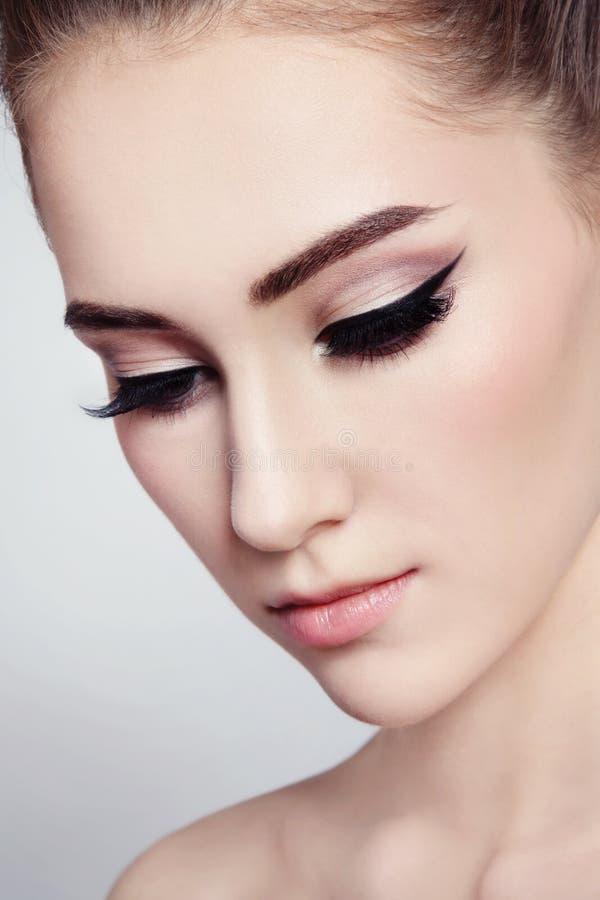 Eyeliner fotografia royalty free