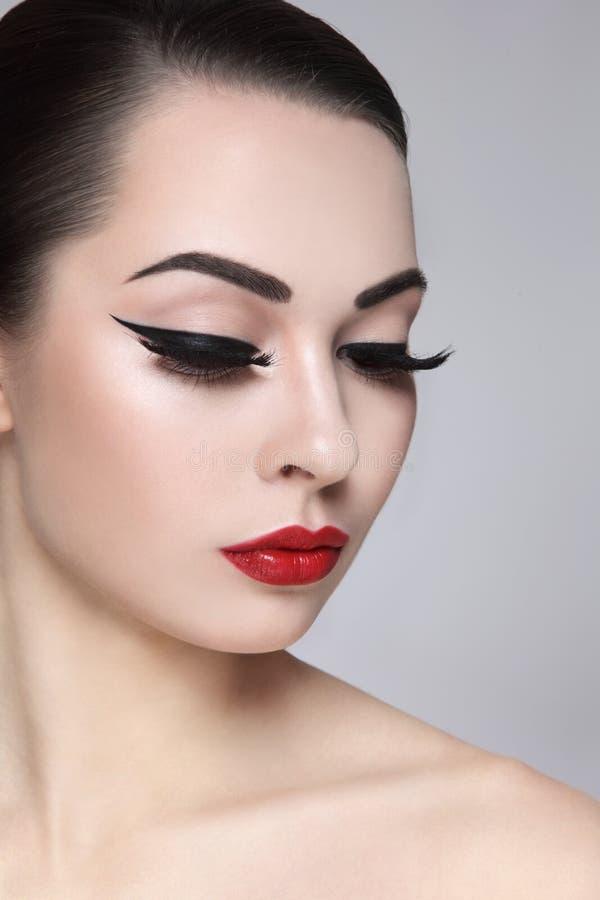 eyeliner stock foto's