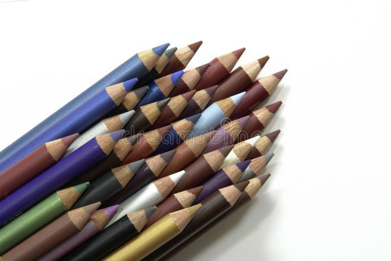 Eyeliner-Federn lizenzfreies stockbild