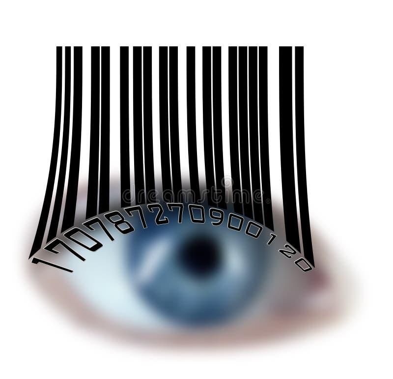 eyes близость иллюстрация вектора