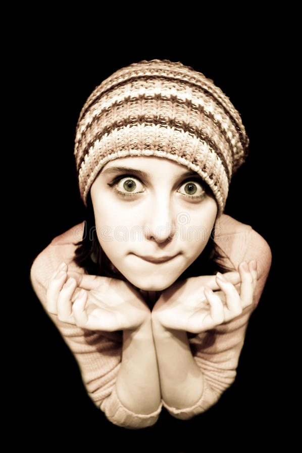eyes зеленый цвет девушки стоковые изображения rf