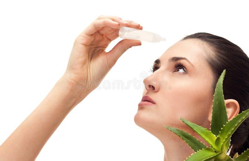 eyes медицинская терапия стоковое фото