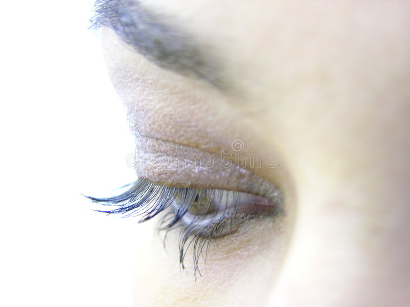 Download Eyes stock photo. Image of glance, close, romantic, lashes - 156430