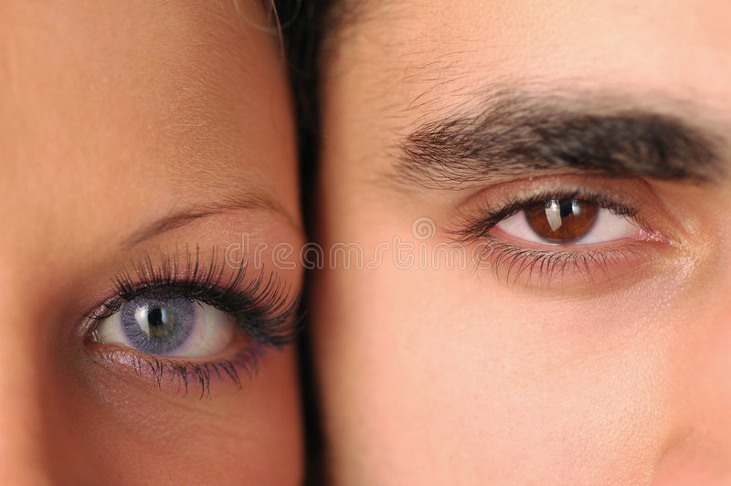 Download Eyes stock photo. Image of female, friendship, lenses - 2654916