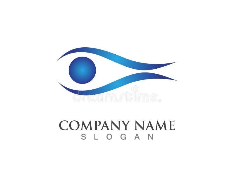 Eyes logo and vector. Eyes logo and vector royalty free illustration