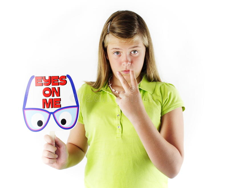 Download Eyes On Me stock image. Image of look, hold, children - 20914225