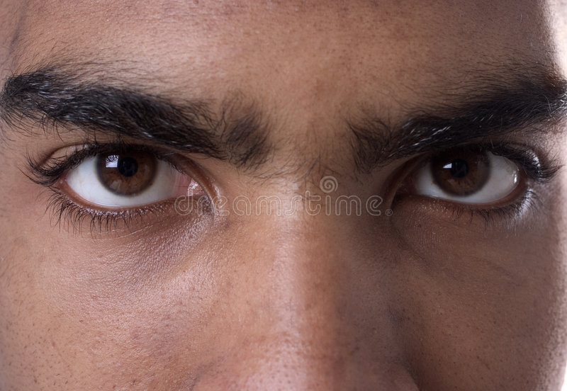 eyes mitt royaltyfri foto