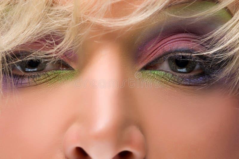 Eyes o cinza foto de stock royalty free
