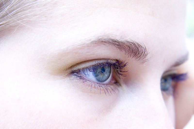 eyes SAD royaltyfria foton