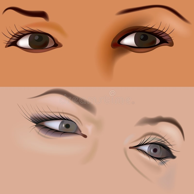 Eyes Vol.4 Royalty Free Stock Image
