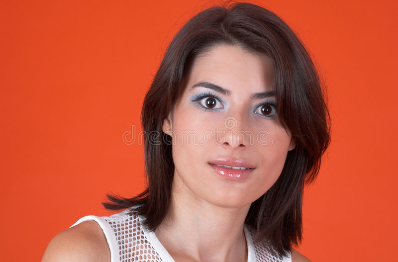 Download Eyes Wide Open stock photo. Image of attractive, charm - 1586296