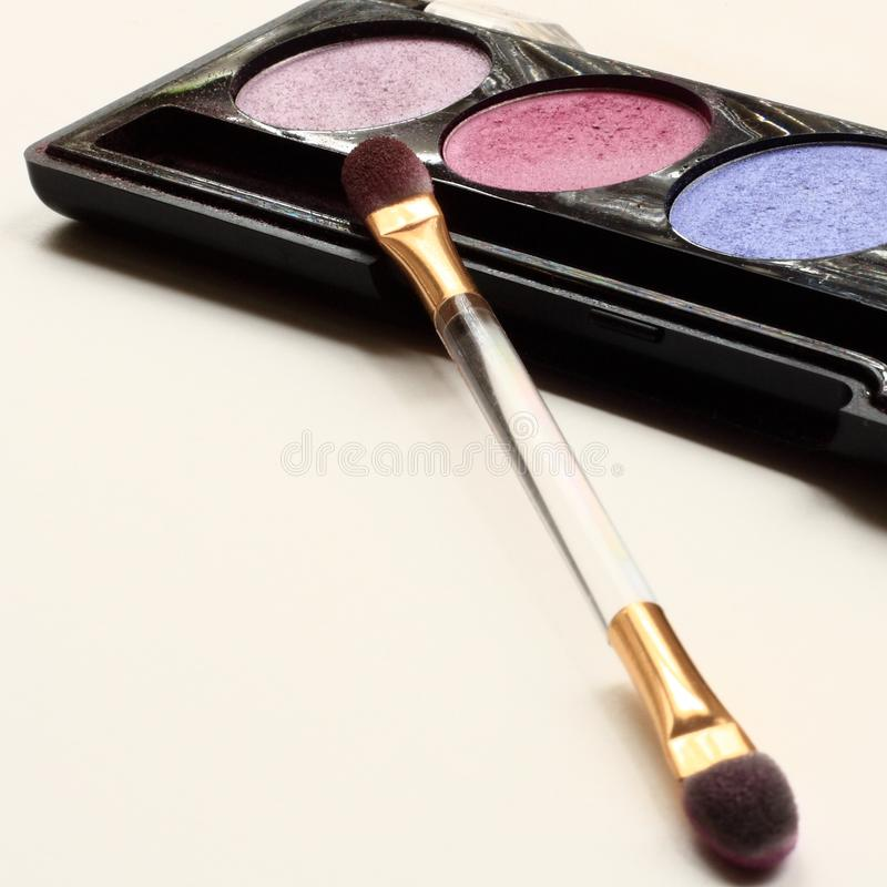 Download Eyeshadow stock image. Image of color, bringout, brush - 9258215