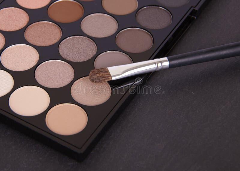 Eyeshadow paleta zdjęcia stock