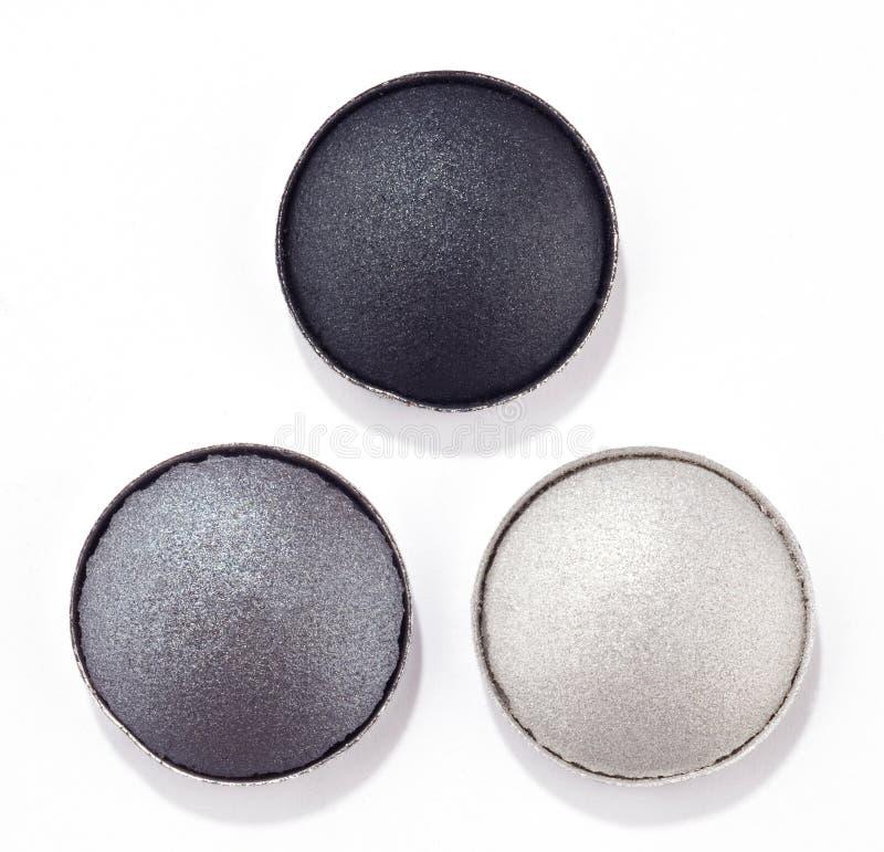 Download Eyeshadows stock image. Image of spilling, round, shading - 26376043