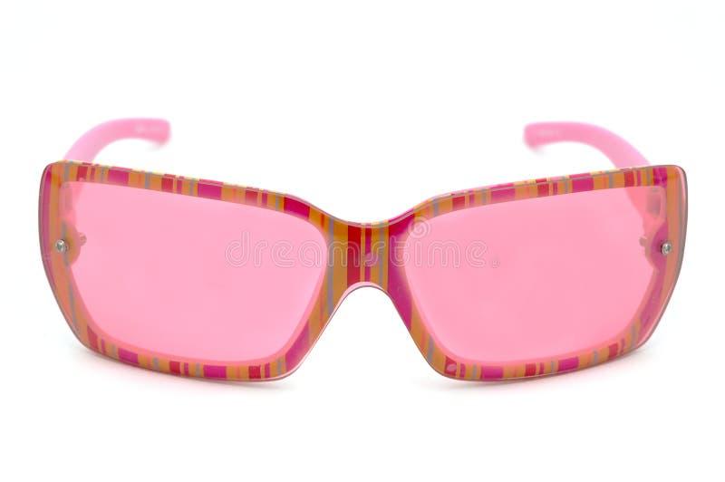 eyewear方式粉红色 图库摄影