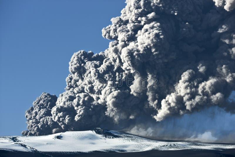 eyjafjallajokull火山 免版税图库摄影