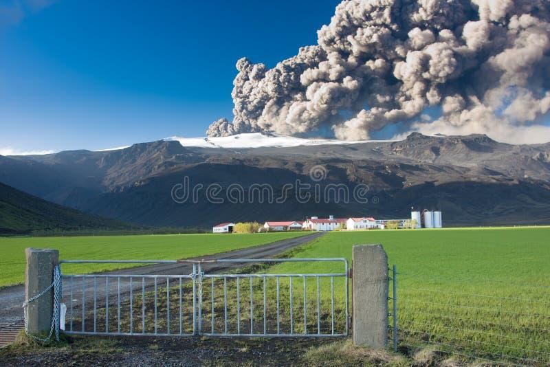 Eyjafjallajokull image stock