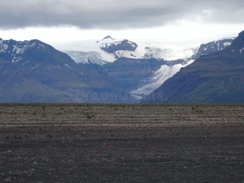 Eyjafjallajokull стоковое фото