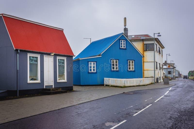Eyrarbakki in Iceland royalty free stock images