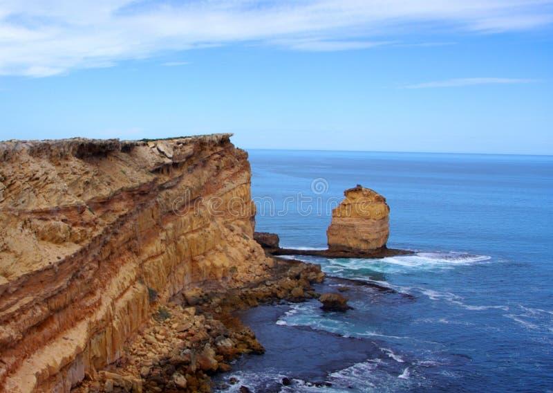 Eyre-Halbinsel, drastische Küstenlandschaft lizenzfreie stockfotos