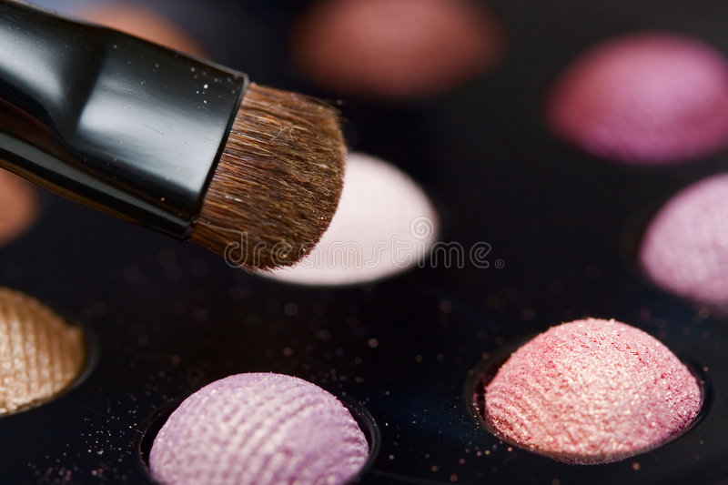 Eyshadow close up royalty free stock images