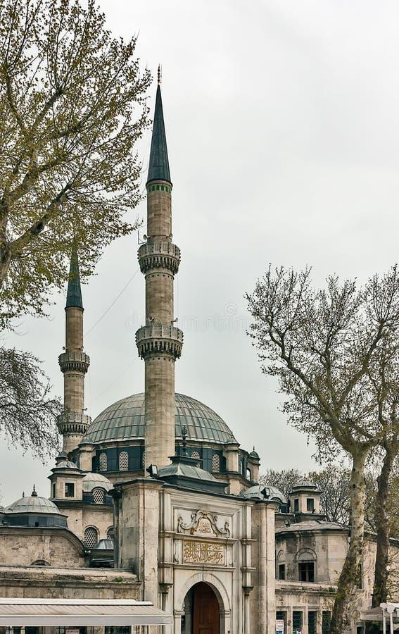 Eyup Sultan Mosque, Istanbul royaltyfria bilder