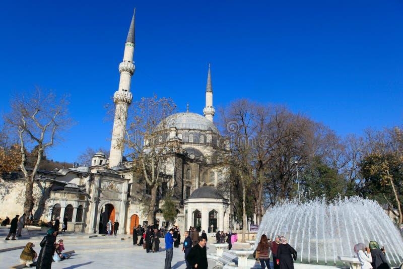 Eyup Sultans-Moschee lizenzfreie stockbilder