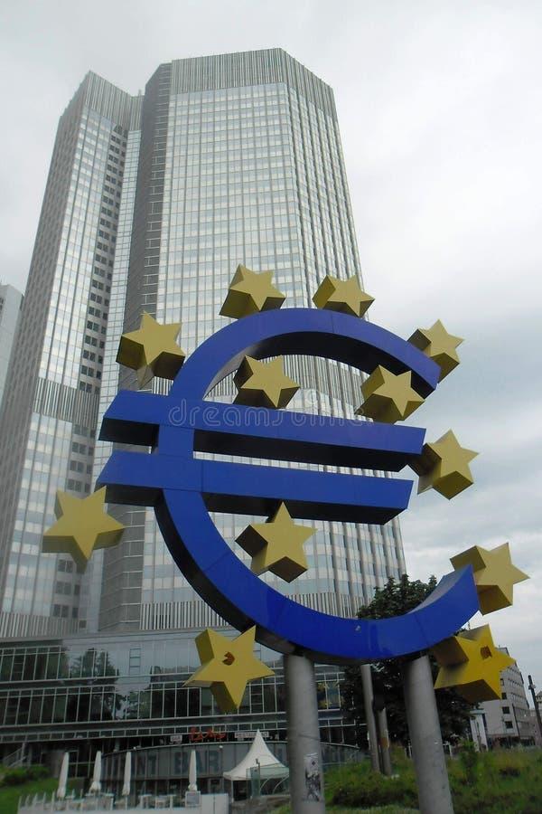 EZB royaltyfri fotografi