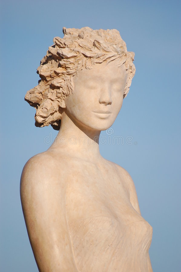 Eze 18 - scultura fotografia stock