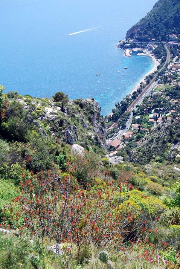 Download From Eze Village stock image. Image of french, maritimes - 5553141