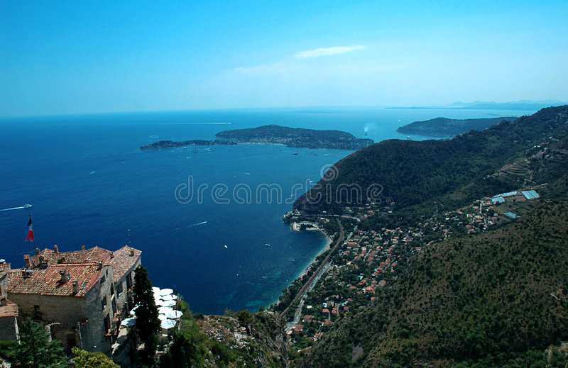 Download Eze1 stock image. Image of city, garden, medieval, nice - 164385