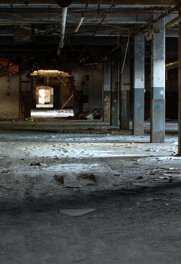 Fábrica abandonada 13 fotografía de archivo