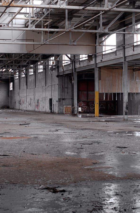 Fábrica abandonada 2 imagen de archivo libre de regalías