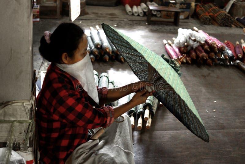 Fábrica antiga tailandesa foto de stock royalty free