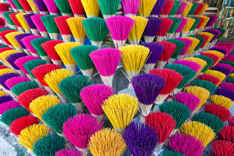 Fábrica da vara do incenso foto de stock royalty free