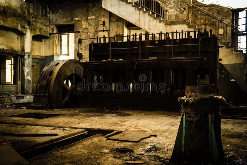 Fábrica de Abonded foto de archivo libre de regalías