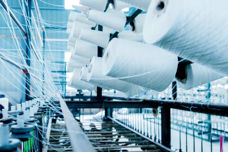 Fábrica de algodón imagen de archivo