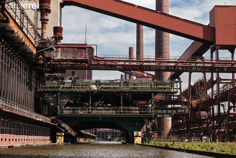 Fábrica de coque de Zeche Zollverein imágenes de archivo libres de regalías