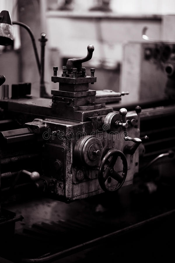 Fábrica de la maquinaria imagenes de archivo
