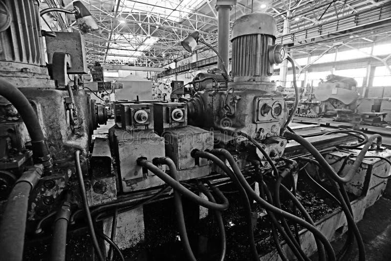 Fábrica de la maquinaria del equipo imagenes de archivo