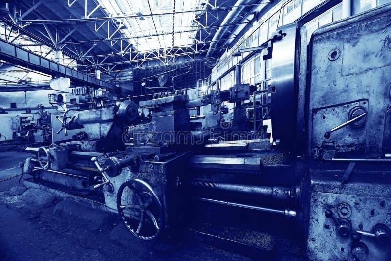 Fábrica de la maquinaria del equipo fotos de archivo
